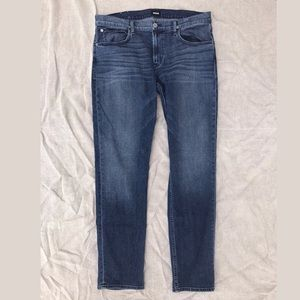 Hudson Blake Slim Straight 38 x 33 dark wash